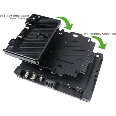 Small HD DP Series Anton Bauer Power Kit 287 - 215