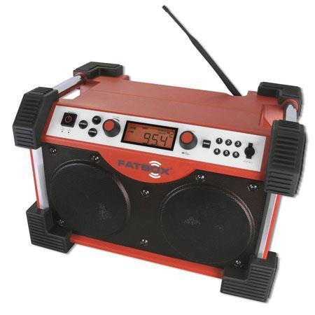 Sangean FATBOX Compact FMAM Ultra Rugged Radio Receiver 123 - 6