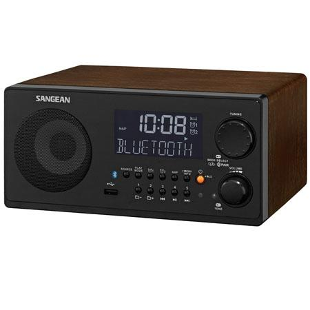 Sangean WR FM RDS RBDSAMUSBBluetooth Digital Receiver Walnut 221 - 27