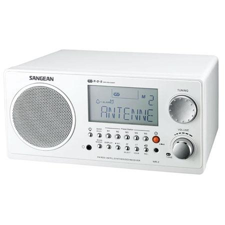 Sangean FM RDS RBDSAM Wooden Cabinet Table Top Digital Tuning Receiver  48 - 633
