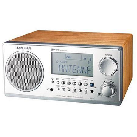 Sangean FM RDS RBDSAM Wooden Cabinet Table Top Digital Tuning Receiver Walnut 162 - 376