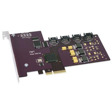 Sonnet Tempo SATA Ei Host Adapter Card One Serial ATA Data Cable PCI ExpressBus Interface 12 - 718