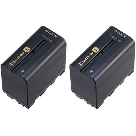 Sony NP F L series Info Lithium Camcorder Battery mAh Pack 34 - 688