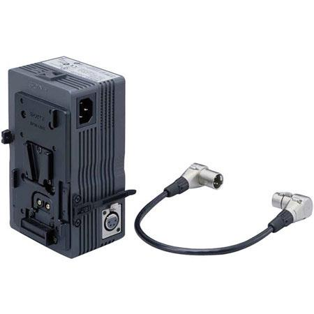 Sony AC DNB AC Power Supply and Battery Charger V Mount Batteries Pin XLR Connector 44 - 526