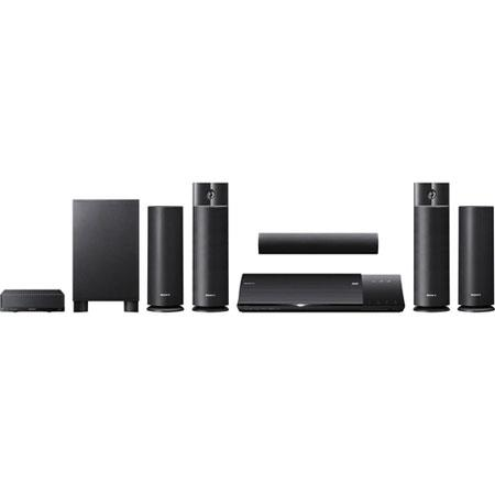 Sony BDV NW D Blu ray Home Theater System W Power Output Channel iPhoneiPod Dock 294 - 88