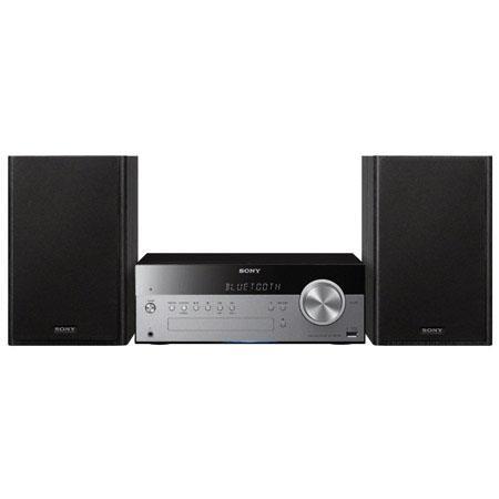 Sony CMT SBT Micro Music System Bluetooth NFC W Power Output way Speaker CD Player AMFM Radio 424 - 31