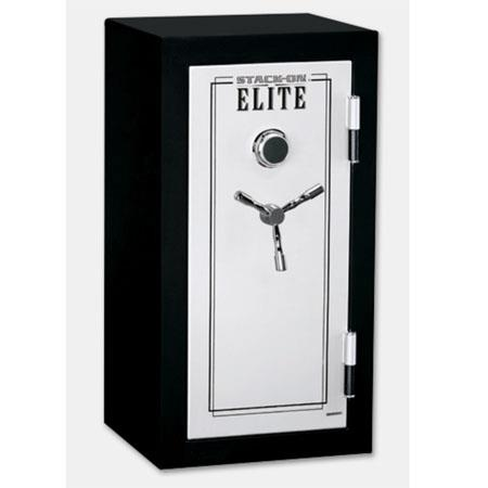 Stack On Elite Jr Executive Firearm Safe Combination Lock Minutedeg Fire rated Adjustable Shelves 93 - 620