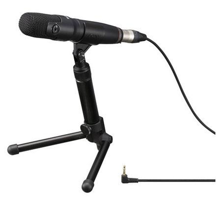 Sony ECM PRO Electret Condenser MS Stereo Microphone Hz kHz Frequency Response 1 - 318