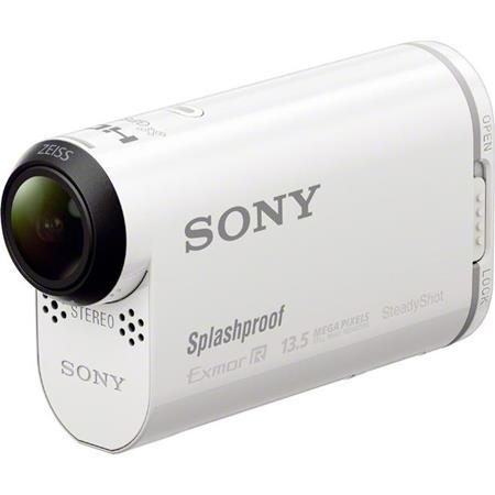 Sony HDR ASV Splashproof POV Action Cam MP p Mbps Video GPS Wi Fi NFC SteadyShot Image Stabilization 120 - 677