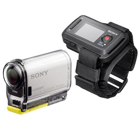 Sony HDR ASVR POV Action Camera Live View Remote Bundle MP ZEISS Tessar Lens Wi Fi NFC GPS HDMI Outp 67 - 319