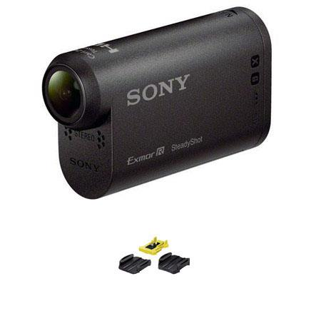 Sony HDR AS HD Action Camcorder Bundle VCT AM Adhesive Mount Pack 217 - 8