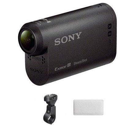Sony HDR AS HD Action Camcorder Bundle Sony VCT HM Handlebar Mount AKA AF Anti Fog Insert 298 - 146