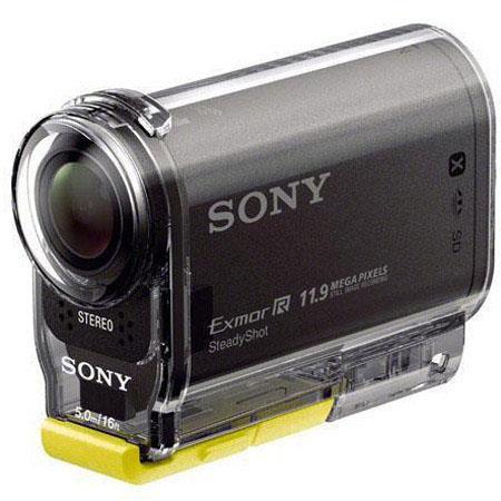 Sony HDR ASV Action Cam Wearable Kit MP Full HDp Video deg Carl Zeiss Vario Tessar Lens HeadWrist Mo 61 - 732