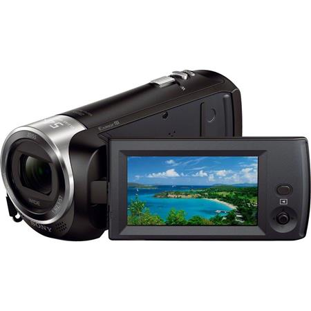 Sony HDR CX Full HD Handycam CamcorderOpticalClear Image Zoom Wide Angle Carl Zeiss Lens LCD NFCWi F 424 - 31