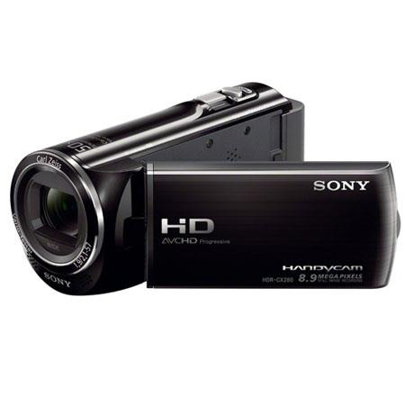 Sony HDR CXE PAL Full HD Flash Memory CamcorderOptical ZoomDigital Zoom LCD Plus Display MP Still Pi 124 - 21