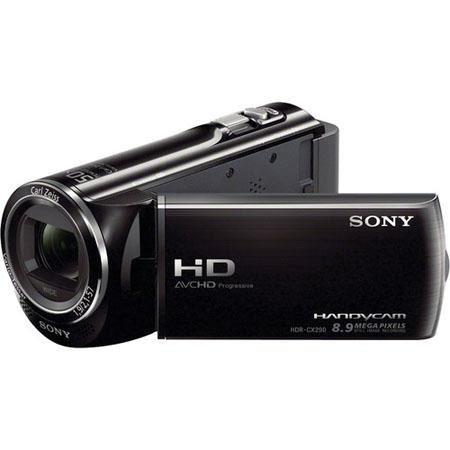 Sony HDR CXE PAL Full HD GB Flash Memory Camcorder MP CMOS SensorOptical ZoomExtended ZoomFull HD p  208 - 188