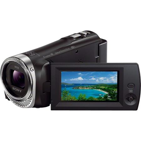 Sony HDR CX Full HD Handycam CamcorderOpticalClear Image Zoom Wide Angle Sony Zoom Lens LCD Display  125 - 423