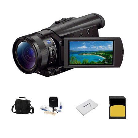 Sony HDR CX Full HD Handycam Camcorder Exmor CMOS Sensor Bundle LowePro Shoulder Case Sandisk GB CL  132 - 784