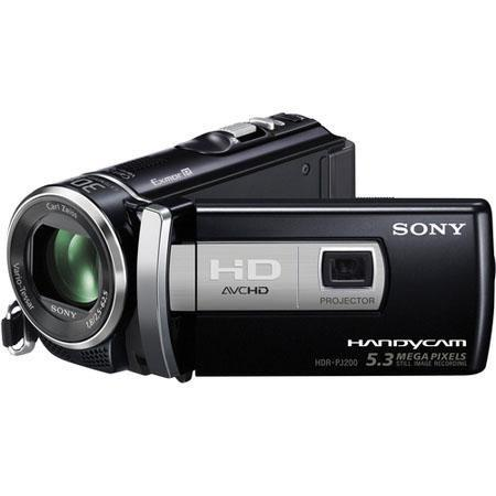 Sony HDR PJE Full HD PAL Camcorderi Recording MegapixelOptical Zoom Touch Panel LCD Display  75 - 334