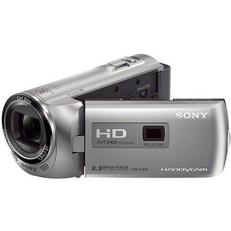 Sony PAL HDR PJE GB Handycam Built ProjectorFull HD Resolution MPDigitalOptical Zoom LCD Display Sil 97 - 248