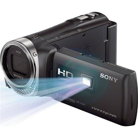 Sony HDR PJ GB Full HD Handycam Camcorder Built ProjectorOptical Zoom Wide Angle Sony Zoom Lens Disp 214 - 768