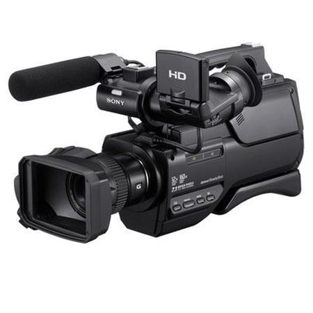 Sony HXRMCU Shoulder Mount AVCHD Camcorder Touch Screeni AVCHD CMOS Built GB Hard DriveOptical Zoom 150 - 260
