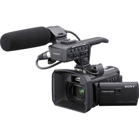 Sony HXR NXU NXCAM Palm Sized Camcorder Zeiss Wide Angle Zoom Lens Optical SteadyShot Full HD ppp Bu 294 - 376