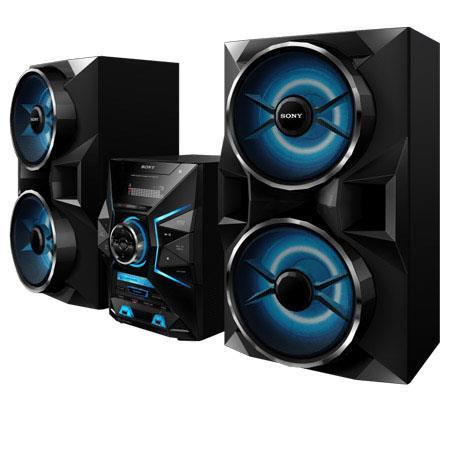Sony LBTGPX W Way Mini Music System Bluetooth and NFC FM AM Preset Stations Dual USB Inputs 250 - 239