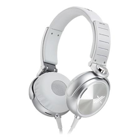 Sony MDRX On Ear Headphones and Silver 94 - 244