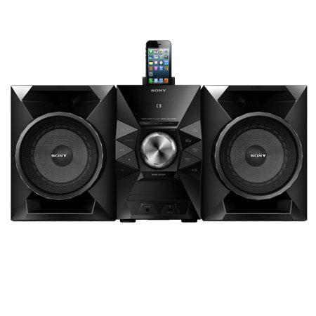 Sony MHC ECiP Mini Hi Fi System Lightning Connector Front Speakers W RMS Total Power USB Integrated  94 - 244
