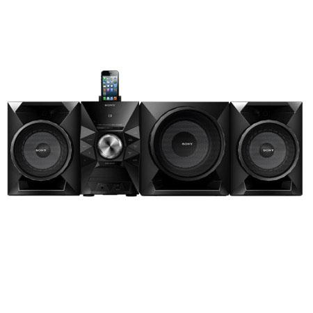 Sony MHC ECiP Mini Hi Fi System Lightning Connector Front Speakers W RMS USB Integrated Tuner iPod i 224 - 361