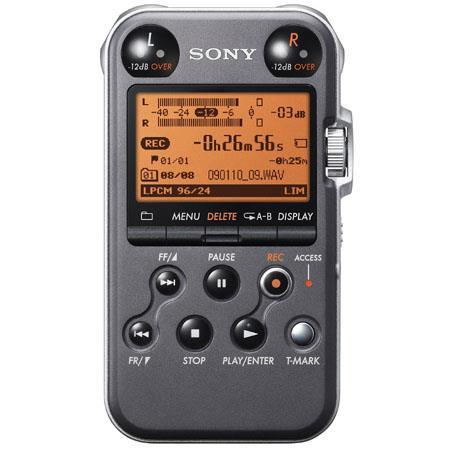 Sony PCM MB Portable Linear PCM Recorder kHz bit GB Memory USB High Speed Port Matt 172 - 320