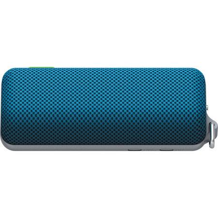 Sony SRS BTS Splash Proof Bluetooth Wireless Speaker Built In Mic Automatic Surround Mode Blue 250 - 306
