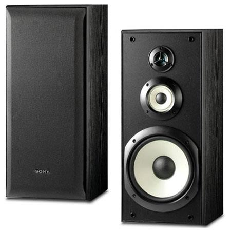 Sony SS B Way watt Performance Bookshelf Speakers Pair  222 - 655