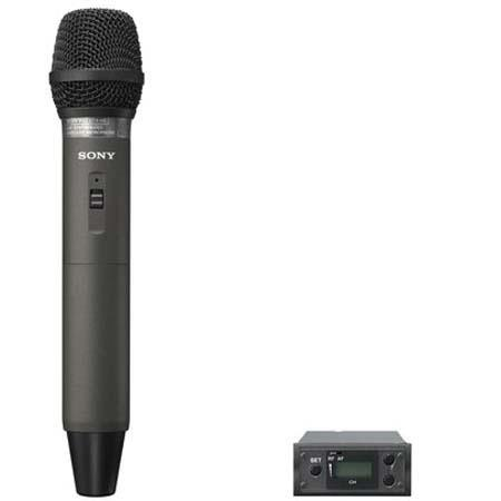 Sony UWPX Handheld Microphone TX RX Module Wireless System Operating on TV Channels to  252 - 704