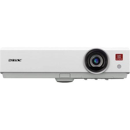 Sony VPLDW Lumens WXGA Mobile Projector Contrast RatioOptical Zoom Throw Ratio 88 - 634