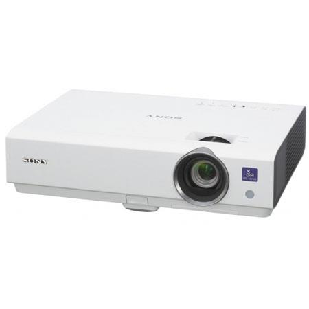 Sony VPL DX Lumens LCD Mobile Network Projector Contrast Ratio XGAResolutionOptical Zoom 127 - 132