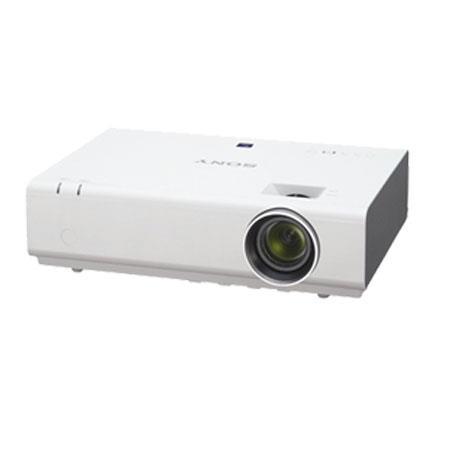 Sony VPLEW WXGA Portable Projector LumensOptical Zoom Contrast Ratio Throw Ratio W Speaker 116 - 210