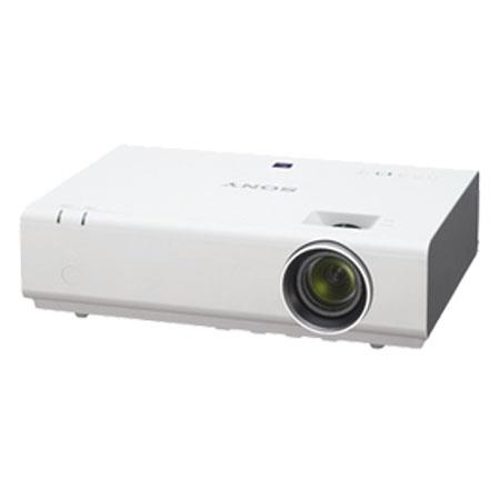 Sony VPLEX XGA Portable Projector Lumens Contrast RatioOptical Zoom Throw Ratio W Speakers 251 - 556