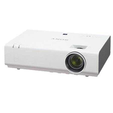 Sony VPLEX XGA Portable Projector Lumens Contrast RatioOptical Zoom Throw Ratio W Speaker 104 - 399