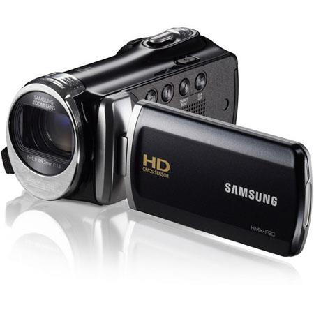 Samsung HMX F HD Camcorder MegapixelOptical Zoom LCD HDMI  57 - 508