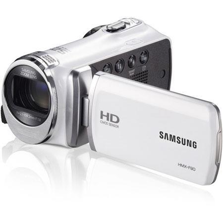 Samsung HMX F HD Camcorder MegapixelOptical Zoom HDMI LCD  57 - 508