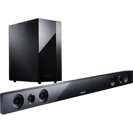 Samsung HW F Channel HDMI Sound Bar System Wireless Subwoofer Bluetooth  191 - 61