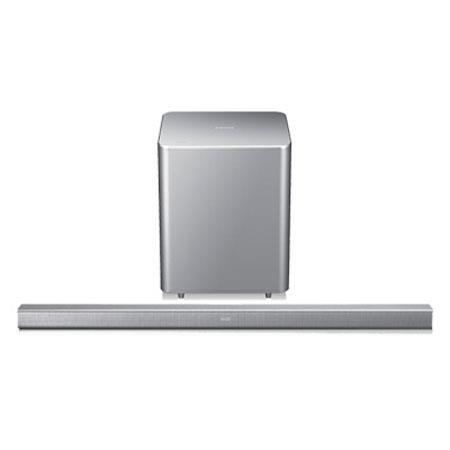 Samsung HW F Channel HDMI Sound Bar System Wireless Subwoofer Bluetooth Silver 46 - 710