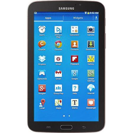 Samsung Galaxy Tab Tablet Computer Dual Core GHz GB RAM GB Flash Memory Android Jelly Bean Gold 118 - 658