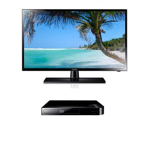 Samsung UNF p Hz LED TV Bundle Samsung BD F Blu ray Disc Player 260 - 357