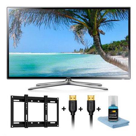 Samsung UNF p Hz LED Smart TV Bundle Xtreme Cables HDTV Slim Mounting Kit 70 - 764