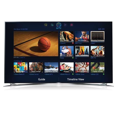 Samsung UNF p D LED TV Smart TV S Recommendation Clear Motion Rate Quad Core Processor Wi Fi Built H 230 - 430