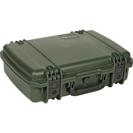 Pelican Storm iM Case Watertight Padlockable Case No Foam or Divider Interior Olive Drab 79 - 426