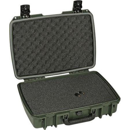 Pelican Storm iM Case Watertight Padlockable Case Multilayer Cubed Foam Interior Olive Drab 262 - 589